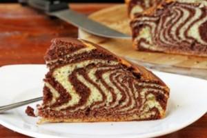 Μια περίεργη συνταγή: Κέικ Ζέβρα (video)