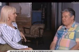 Βασίλης Χαλακατεβάκης: H μάχη με τον καρκίνο και η μετάσταση... Τα συγκλονιστικά λόγια του αγαπημένου ηθοποιού (video)