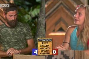 Survivor 2: Μπουρδουκλώθηκε! Μπέρδεψε τον... Καζαντζίδη με την Βανδή ο Μιχάλης Μουρούτσος! (video)