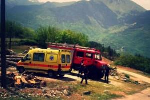 Βουτιά θανάτου! Ένα μωρό νεκρό και 4 τραυματίες στα Τρίκαλα!