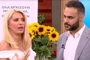 Το ατύχημα της Ελένης Μενεγάκη on air! Περπατούσε και... (Video)