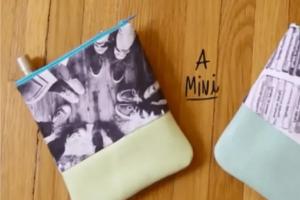 Δες πώς θα φτιάξεις τα πιο στιλάτα μικρά τσαντάκια μόνη σου (video)