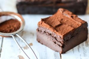 Brownies με σοκολάτα, λάδι καρύδας και γάλα αμυγδάλου!