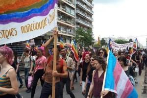 Θεσσαλονίκη: Ξεκίνησε η πολύχρωμη πορεία του «Thessaloniki pride» (Photos+video)