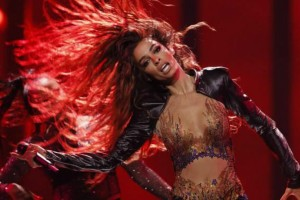 Eurovision 2018: Ξετρέλανε τον πιλότο του αεροπλάνου η Ελένη Φουρείρα!  Η αφιέρωση που της έκανε!