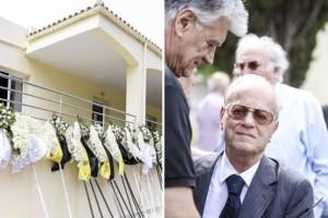 Σπαραγμός στην κηδεία του Κώστα Πολίτη! Ποιοι επώνυμοι έδωσαν το παρών; (photos)