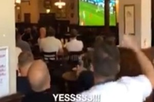Μουντιάλ: Μεθυσμένος Άγγλος μπέρδεψε τις φανέλες και πανηγύρισε το γκολ της Τυνησίας! (video)