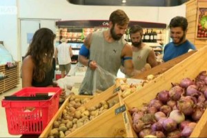 Survivor 2: Ψώνια! Οι Μαχητές πήγαν στο super market και το... τερμάτισαν! (video)