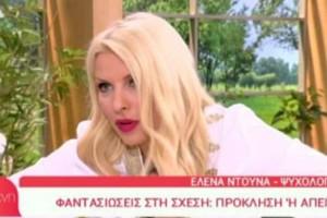 Ελένη Μενεγάκη: Ανανέωσε on air το συμβόλαιο συνεργάτη της! (video)