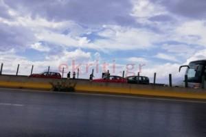 Απίστευτο τροχαίο στην Κρήτη: Καραμπόλα 7 αυτοκινήτων εξαιτίας της σφοδρής βροχόπτωσης!