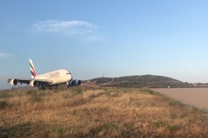 Airbus Α380: Ο «βασιλιάς των αιθέρων» στο αεροδρόμιο «Ελ. Βενιζέλος»! (video)