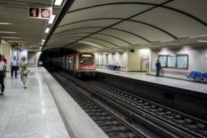 Στάση εργασίας στο Μετρό της Αθήνας!