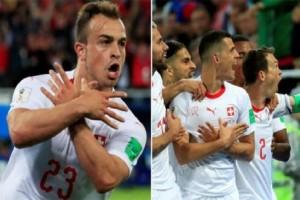 Μουντιάλ 2018: Η FIFA τιμωρεί τους Ελβετούς που σχημάτισαν τον... αλβανικό αετό!