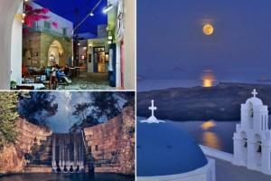 10 καλοκαιρινές νυχτερινές φωτογραφίες από την Ελλάδα (photos)