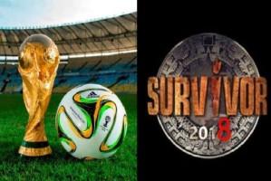 Το Μουντιάλ ξεφτίλισε το Survivor: Έβαλε γκολ στην καρδιά των τηλεθεατών!