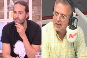 Έξαλλος ο Δήμος Βερύκιος με τον Κώστα Φραγκολιά on air: «Είσαι αμόρφωτος!»