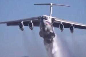 Πυροσβεστικό αεροσκάφος «έλουσε» κατά λάθος περιπολικό με 40 τόνους νερό! (video)