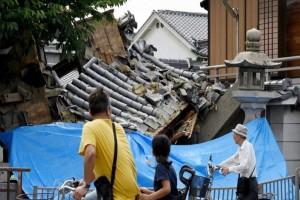 Η στιγμή που ο σεισμός 6,1 βαθμών χτυπά την Οσάκα (video)
