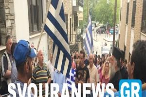 Καστοριά: «Ντροπή - προδότες» φώναξαν για τον ΣΥΡΙΖΑ! (Video)