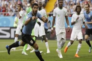 Μουντιάλ 2018: Πρόκριση για την Ουρουγουάη, 1-0 τη Σαουδική Αραβία! (video)