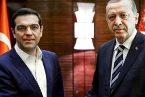 """""""Δύσκολη"""" η συνάντηση Τσίπρα - Ερντογάν: Βασικό θέμα συζήτησης οι δύο στρατιωτικοί που κρατούνται στην Αδριανούπολη (video)"""