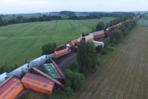 Εκτροχιάστηκε τρένο στον Καναδά! (video)