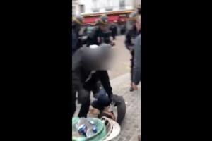 Έλληνας ο διαδηλωτής που ξυλοκόπησε ο πρώην συνεργάτης του Μακρόν! (video)