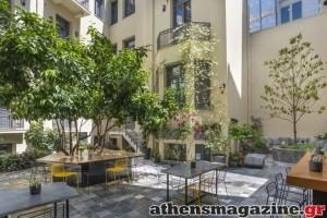 Η κρυμμένη όαση στο κέντρο της Αθήνας που εδώ και 3 χρόνια κατέχει μια περίοπτη θέση στον ξενοδοχειακό χάρτη της πόλης!