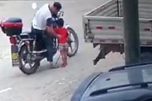 Βίντεο - σοκ: Η στιγμή που άνδρας απαγάγει κοριτσάκι με δέλεαρ ένα κέρασμα!