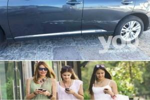 Το αυτοκίνητο της Τζένης Μπαλατσινού μετά το τρακάρισμα! Γιατί διέψευσαν ψευδώς την είδηση;