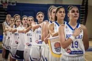 Τρελό σουτ πίσω από το κέντρο Ελληνίδας παίκτριας κόντρα στα Σκόπια! (video)