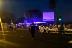 Σκηνές χάους σε νοσοκομείο στην Ισπανία από φωτιά! (videos)