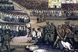Σαν σήμερα στις 17 Αυγούστου το 1944 πραγματοποιήθηκε το Μπλόκο της Κοκκινιάς που κατέληξε σε λουτρό αίματος!