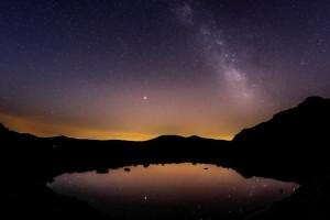 Η φωτογραφία της ημέρας: Στιγμιότυπο στο οποίο διακρίνεται ο Γαλαξίας στην Μαδρίτη!