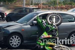 Κρήτη: Σοκάρουν οι εικόνες από το τροχαίο ατύχημα στο Ρέθυμνο (video)