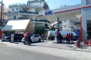 Φωτιά σε βενζινάδικο στο Αγρίνιο! - Στο νοσοκομείο δύο γυναίκες