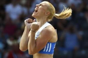 Οι πρώτες δηλώσεις της Νικόλ Κυριακοπούλου που έφερε στην Ελλάδα ασημένιο μετάλλιο! (video)