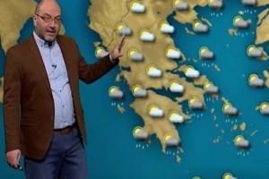 """Ο Σάκης Αρναούτογλου προειδοποιεί: """"Έρχεται απίστευτος καύσωνας για την εποχή..."""""""