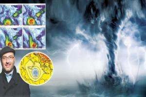 """Συναγερμός από τον Σάκη Αρναούτογλου: """"Κυκλώνας θα χτυπήσει την Ελλάδα τις επόμενες ώρες!"""""""