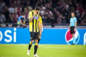 Βαριά ήττα με 3-0 για την ΑΕΚ στο Άμστερνταμ!