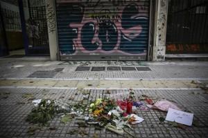 Ομόνοια: Διαμαρτυρία ακροδεξιών έξω από το κοσμηματοπωλείο που πέθανε ο Ζακ Κωστόπουλος! (Photo & Video)