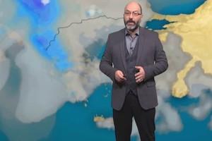 """Ο Σάκης Αρναούτογλου προειδοποιεί: """"Εντυπωσιακή η πτώση της θερμοκρασίας! Απίστευτη αλλαγή..."""""""