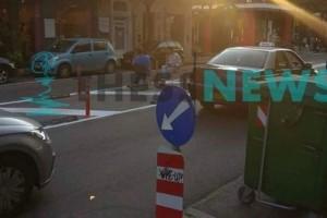 Θεσσαλονίκη: Ήπιαν... χαλαρά τον καφέ τους στη μέση του δρόμου!