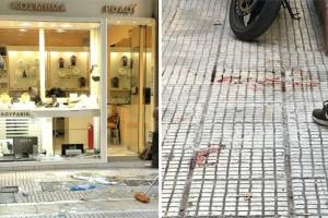 Νεκρός ο άντρας που αποπειράθηκε να ληστέψει κοσμηματοπωλείο στο κέντρο!