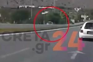Τρόμος στην Κρήτη: Οδηγούσε ανάποδα στην εθνική οδό για 3,5 χιλιόμετρα