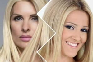 """Ελένη Μενεγάκη: Όταν η νούμερο 1 παρουσιάστρια της ελληνικής τηλεόρασης """"ξεμαλλιαζόταν"""" on air με την Ελένη Φωτοπούλου! (video)"""