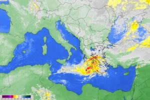 Έως και 12 μποφόρ την Παρασκευή! - Το Αστεροσκοπείο προειδοποιεί για τον κυκλώνα Medicane!
