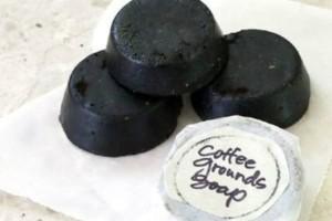 Φτιάξε σαπούνι απ' τον χρησιμοποιημένο αλεσμένο καφέ σου!