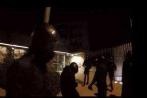 Βίντεο σοκ: Η στιγμή της επίθεσης του Ρουβίκωνα στην πρεσβεία του Καναδά!
