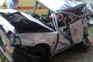 Τροχαίο στην Εθνική οδό: Σύγκρουση νταλίκας με ΙΧ! - 7 τραυματίες (Photos)